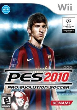 Pro Evolution Soccer 2010. Click to zoom.