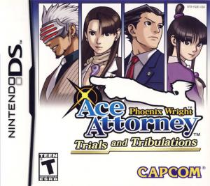 Phoenix Wright: Ace Attorney Trials and Tribulations (2007). Нажмите, чтобы увеличить.