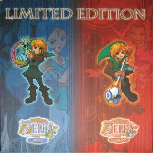 Legend of Zelda: Oracle of Ages / Oracle of Seasons Limited Edition (2001). Нажмите, чтобы увеличить.