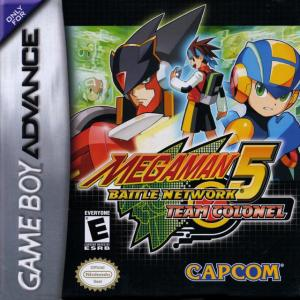 Mega Man Battle Network 5: Team Colonel. Click to zoom.