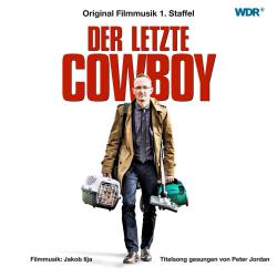 Der letzte Cowboy Music from the Original TV Series. Передняя обложка. Click to zoom.