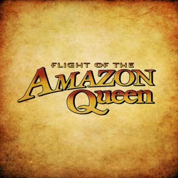 Flight of the Amazon Queen soundtrack. Front. Click to zoom.