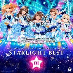 THE IDOLM@STER CINDERELLA GIRLS STARLIGHT BEST 01, The. Передняя обложка. Click to zoom.