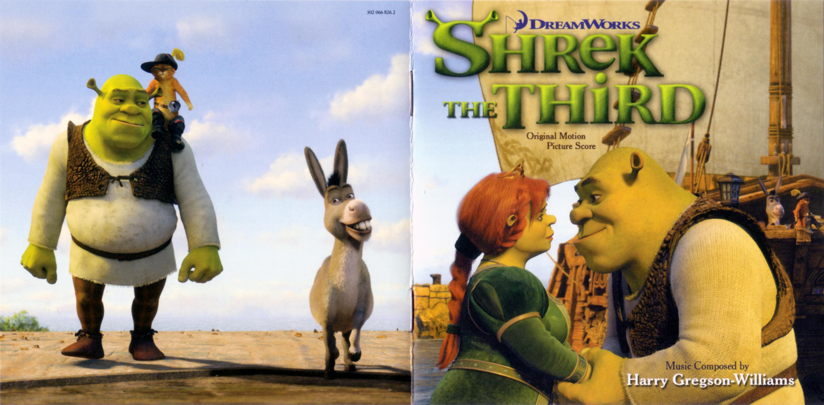 Shrek The Third Original Motion Picture Score