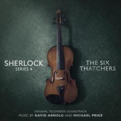 Sherlock Series 4: The Six Thatchers Original Television Soundtrack. Передняя обложка. Click to zoom.