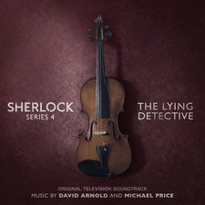 Sherlock Series 4: The Lying Detective Original Television Soundtrack. Передняя обложка. Click to zoom.