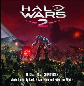 Halo Wars 2 Original Game Soundtrack. Front. Click to zoom.