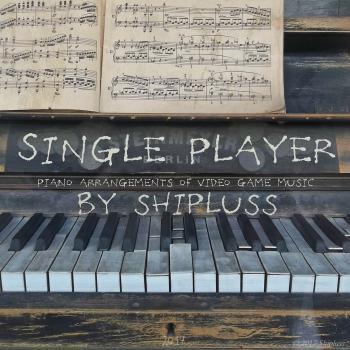 Single Player: Piano Arrangements of Video Game Music. Front. Click to zoom.