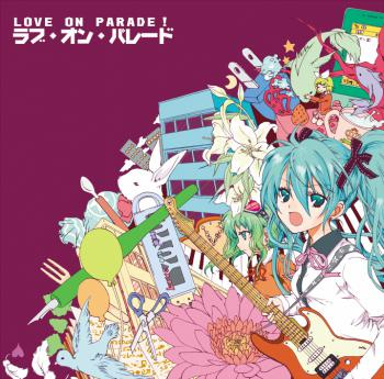 Love on Parade!. Front. Click to zoom.