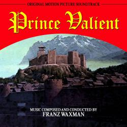 Prince Valiant Original Motion Picture Soundtrack. Передняя обложка. Click to zoom.