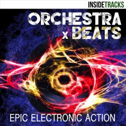 Orchestra Beats: Epic Electronic Action. Передняя обложка. Click to zoom.