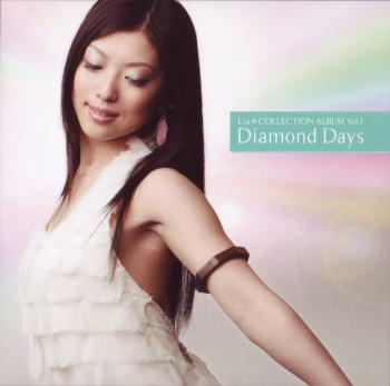 Lia*COLLECTION ALBUM Vol.1 Diamond Days. Front. Click to zoom.