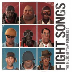 Fight Songs: The Music of Team Fortress 2. Передняя обложка. Click to zoom.