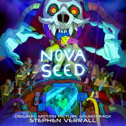 Nova Seed Original Motion Picture Soundtrack. Передняя обложка. Click to zoom.