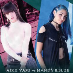 Airii Yami vs MANDY B.BLUE #1 -HANEDA INTERNATIONAL ANIME MUSIC FESTIVAL Presents-. Передняя обложка. Click to zoom.