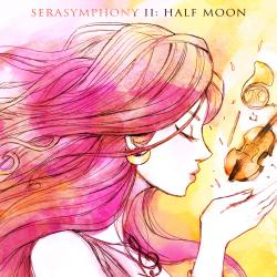SeraSymphony II: Half Moon feat. Kacey Cardin with iconiQ The Soundtrack Orchestra. Передняя обложка. Click to zoom.