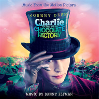 Charlie and the Chocolate Factory Original Motion Picture Soundtrack. Передняя обложка. Click to zoom.