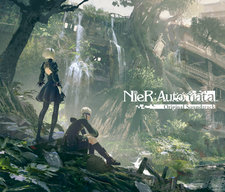 NieR:Automata Original Soundtrack. Передняя обложка. Click to zoom.