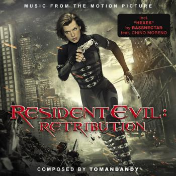 Resident Evil: Retribution Music from the Motion Picture. Front. Click to zoom.
