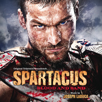 Spartacus: Blood and Sand Original Television Soundtrack. Передняя обложка. Click to zoom.