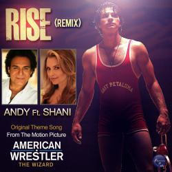 Rise Remix feat. Shani - Single. Передняя обложка. Click to zoom.