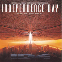 Independence Day Original Soundtrack Recording. Передняя обложка. Click to zoom.