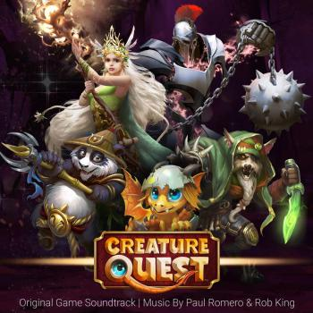 Creature Quest Original Soundtrack. Front. Click to zoom.