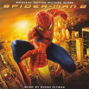 Spider-Man 2 Original Motion Picture Score. Лицевая сторона. Click to zoom.