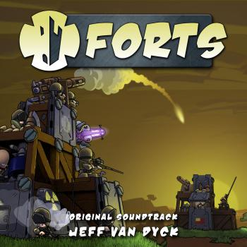 Forts Original Soundtrack. Front. Click to zoom.