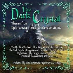 Dark Crystal:Themes from Epic Fantasy Films and Television Series, The. Передняя обложка. Click to zoom.