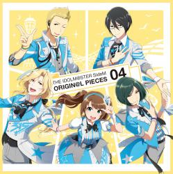 THE IDOLM@STER SideM ORIGIN@L PIECES 04 - EP, The. Передняя обложка. Click to zoom.