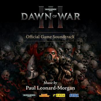 Warhammer 40,000: Dawn of War III Official Game Soundtrack. Front. Click to zoom.