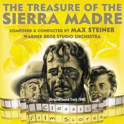 Treasure of the Sierra Madre Original Motion Picture Soundtrack, The. Передняя обложка. Click to zoom.