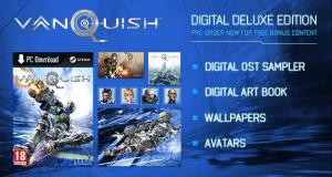 Vanquish Digital Deluxe Edition Soundtrack Sampler. Комплектация . Click to zoom.