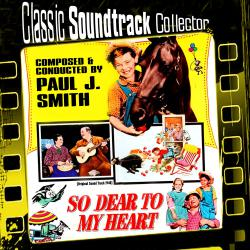 So Dear to My Heart Ost 1948. Передняя обложка. Click to zoom.