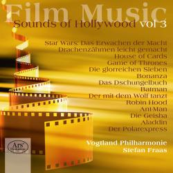 Film Music: Sounds of Hollywood, Vol. 3. Передняя обложка. Click to zoom.