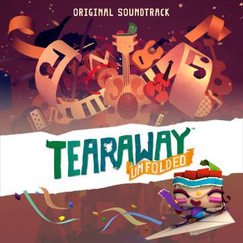 Tearaway Unfolded Original Soundtrack. Front. Click to zoom.