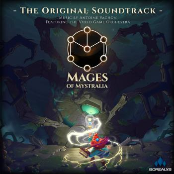 Mages of Mystralia - The Original Soundtrack -. Front. Click to zoom.