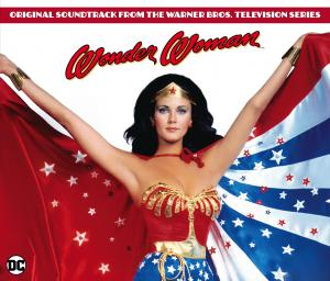 Wonder Woman Original Soundtrack from the Warner Bros. Television Series. Лицевая сторона. Click to zoom.