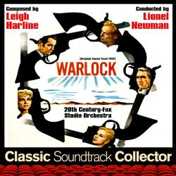 Warlock Original Soundtrack 1959. Передняя обложка. Click to zoom.