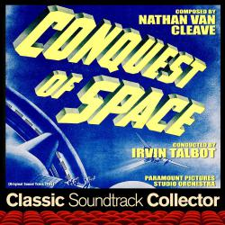 Conquest of Space Original Soundtrack 1955. Передняя обложка. Click to zoom.