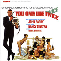 007: You Only Live Twice Original Motion Picture Soundtrack. Передняя обложка. Click to zoom.