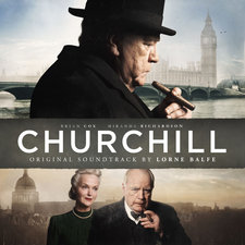 Churchill Original Motion Picture Soundtrack. Передняя обложка. Click to zoom.