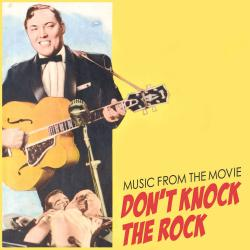 Music from the Movie Don't Knock the Rock. Передняя обложка. Click to zoom.