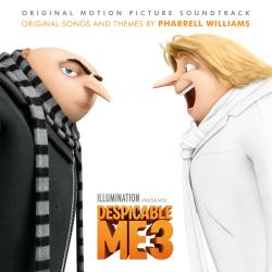 Despicable Me 3 Original Motion Picture Soundtrack. Передняя обложка. Click to zoom.