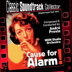 Cause for Alarm! Ost 1951. Передняя обложка. Click to zoom.