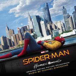 Spider-Man: Homecoming Original Motion Picture Soundtrack. Передняя обложка. Click to zoom.