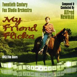 My Friend Flicka 1943 Film Score. Передняя обложка. Click to zoom.