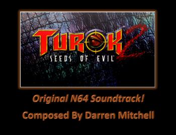Turok 2: The Seeds of Evil (Original N64 Soundtrack). Front. Click to zoom.