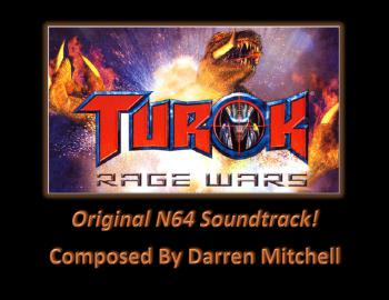 Turok: Rage Wars (Original N64 Soundtrack). Front. Click to zoom.